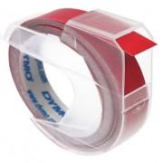 Dymo lettertape rood 9 mm breed