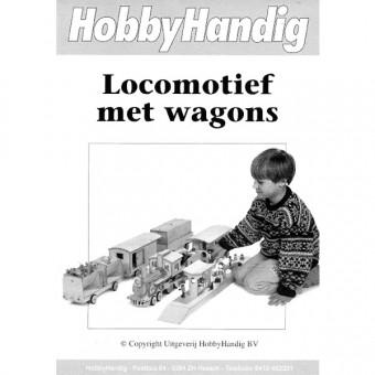 Locomotief met Wagons