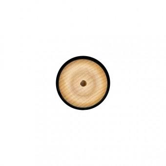 Houten wiel 34 mm
