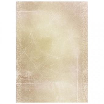 A3 Dessinpapier - Licht creme/bruin gemarmerd