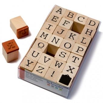 Alfabet Letterstempels