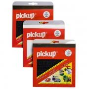 Pick-Up Plakletters - 20 mm hoog - zwart, alleen cijfers