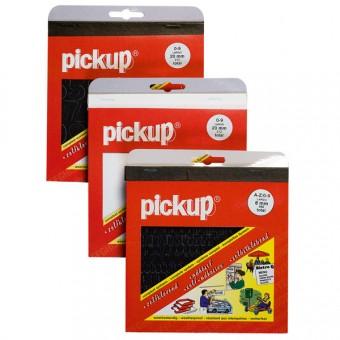 Pick-Up Plakletters - 20 mm hoog - wit, alleen cijfers