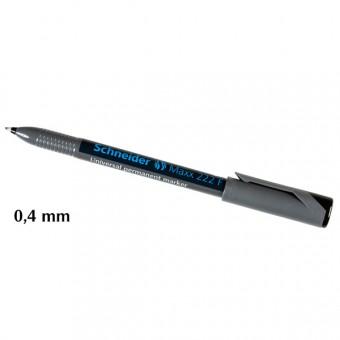 Universal Permanent Marker Zwart 0,4 mm