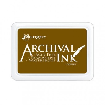 Archival Ink Pad Coffee
