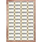 A4 Knipvel Leeftijd-labels 44 stuks