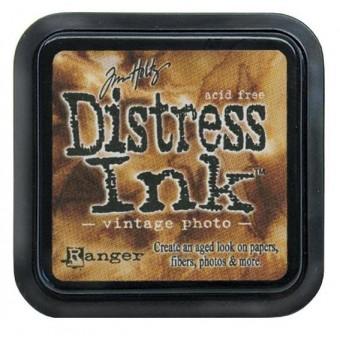 Distress Ink Vintage Photo