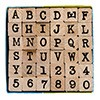 Letters/cijfers